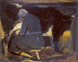 Mungitrice in grigio-1940
