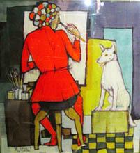 Il pittore e la TitinaDSCN8212
